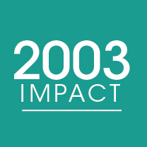 Cover photo for 2003 Impact Report