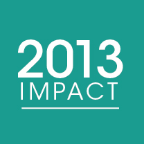 Cover photo for 2013 Impact Report