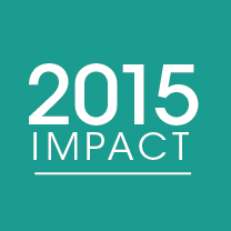Cover photo for 2015 Impact Report