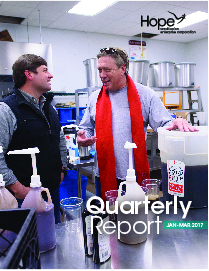 Cover photo for 2017 First Quarter Report