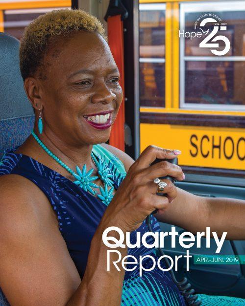 Cover photo for 2019 Second Quarter Report