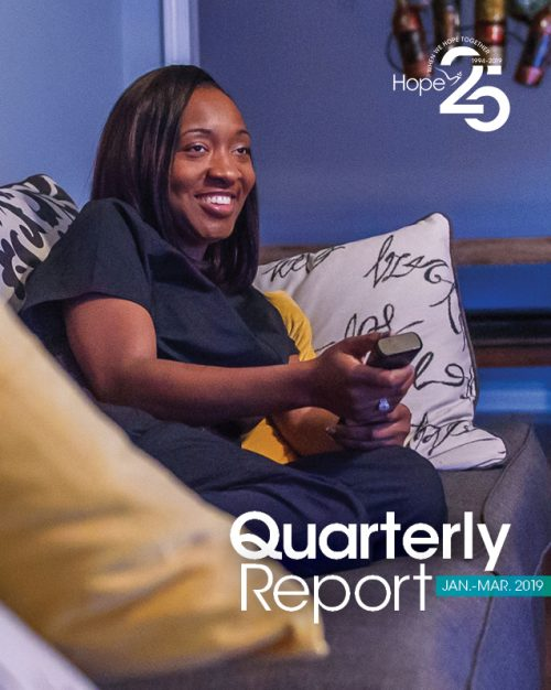 Cover photo for 2019 First Quarter Report