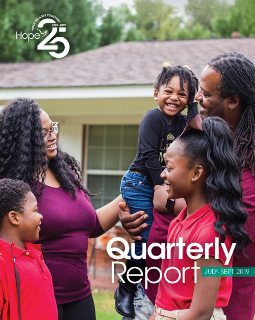 Cover photo for 2019 Third Quarter Report