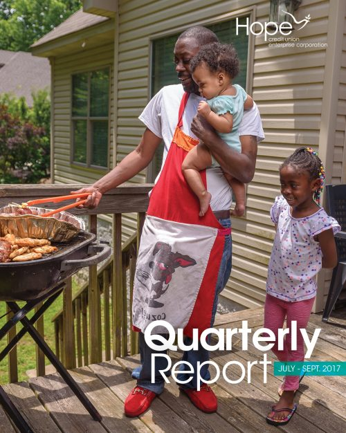 Cover photo for 2017 Third Quarter Report