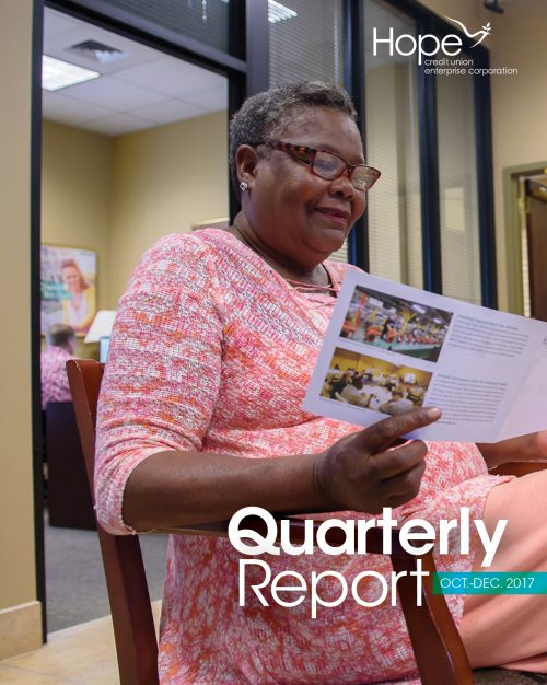 Cover photo for 2017 Fourth Quarter Report