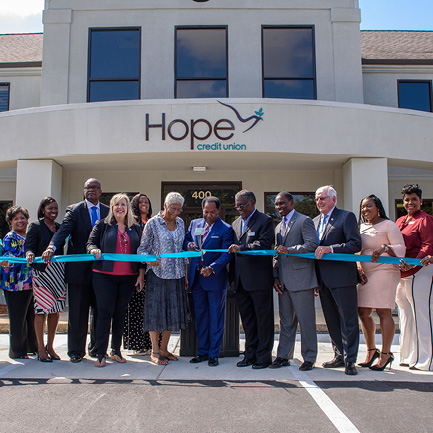 Image for article: HOPE to Open 2nd Branch in Alabama