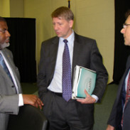 HOPE CEO Bill Bynum, CFPB Director Richard Cordray, and MEPC Director Ed Sivak discuss solutions to predatory lending issues in Itta Bena, MS.