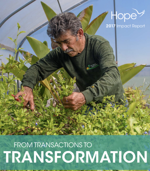HOPE Impact Report Cover